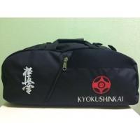 Спортивная сумка-рюкзак с вышивкой и эмблемой Karate Kyokushinkai